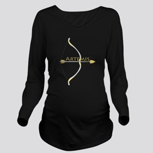 Bow of Artemis Long Sleeve Maternity T-Shirt